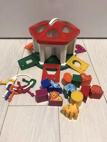 Домик сортер CHICCO, развивающая игрушка,
