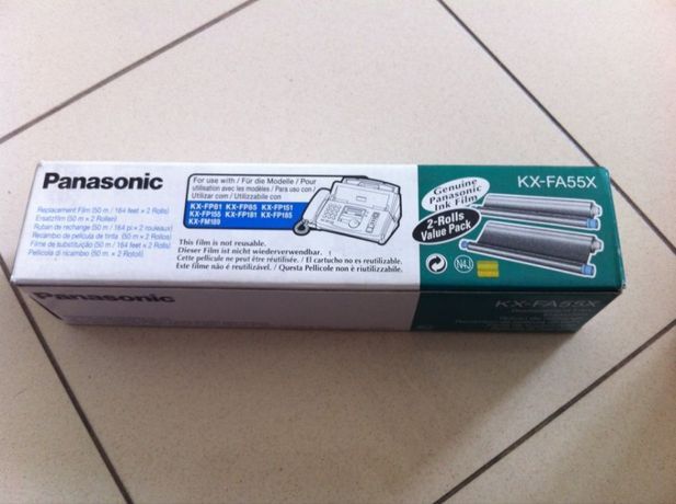 rolo para fax Panasonic KX-FA55X
