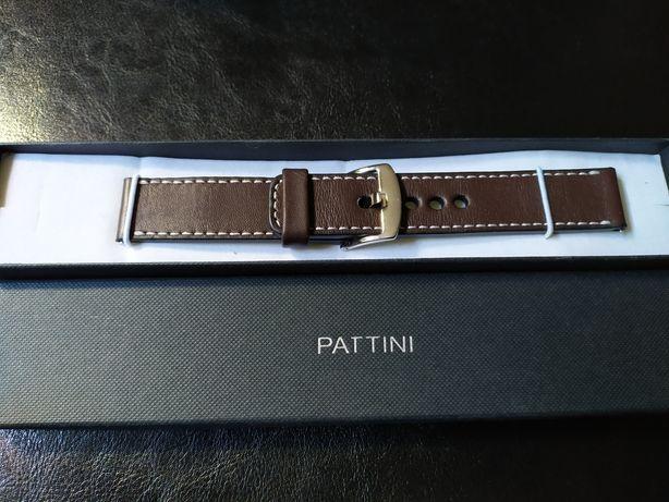 Pasek do zegarka Pattini 21mm nowy