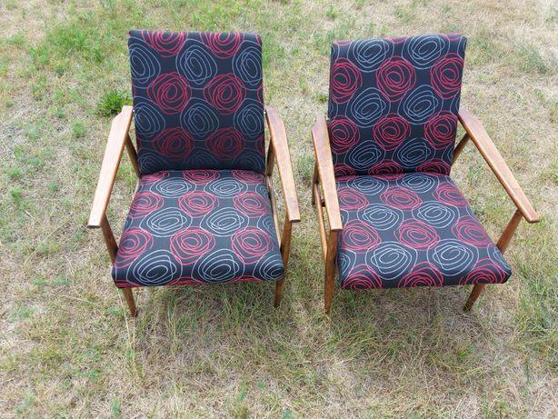 Fotele Lisek po renowacji