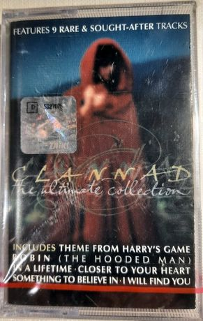 Clannad – The Ultimate Collection, kaseta magnetofonowa, folia