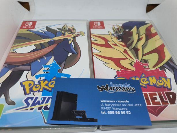 Pokemon Sword/Shield Nintendo Switch Sklep Wymiana Wysyłka 7 dni w tyg