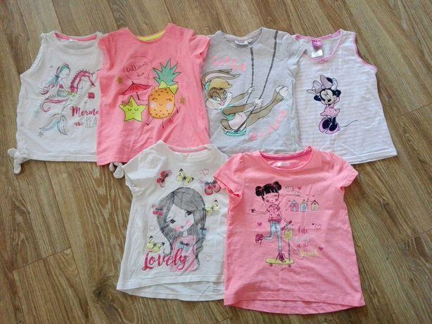 Bluzki na dziewczynkę roz.116