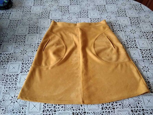 Spódnica zamszowa rozmiar S