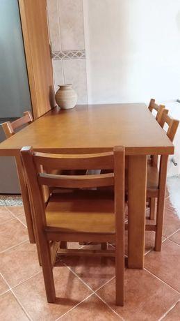 Mesa cozinha 4 cadeiras