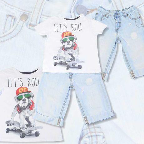 Ubranka, zestaw dla chłopca 3-4 latka (98-104cm)