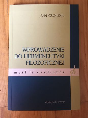 Jean Grondin - Wprowadzenie do hermeneutyki filozoficznej