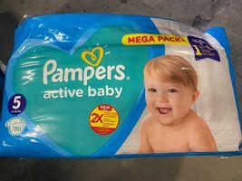 Pieluchy Pampers Active Baby 5 110szt  11-16kg
