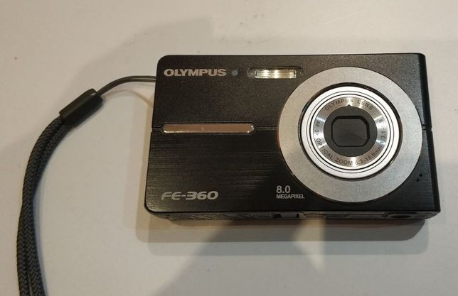 Aparat fotograficzny Olympus FE-360 Czarny