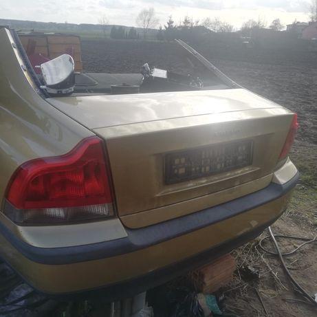 Ćwiartka tył prawa lewa wanna zawiesienie klapa  Volvo s60  srebne