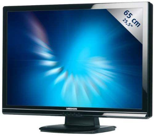 """Monitor LCD 25.5"""" / FullHD/HDMI/DVI/VGA + Głośniki. Moż. TV"""