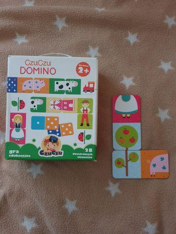Czuczu Domino 2+ gra edukacyjna