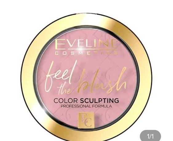 Румяна Eveline персиково-розовые