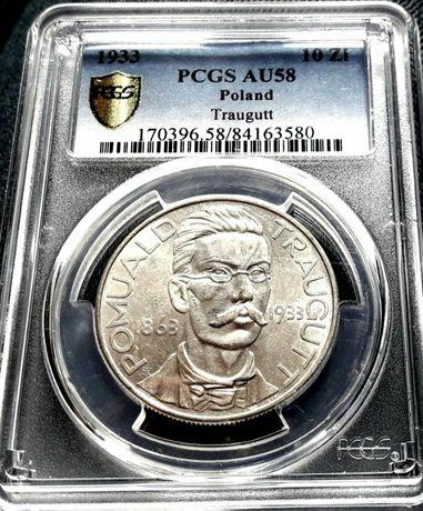 10 zł Traùgut 1933