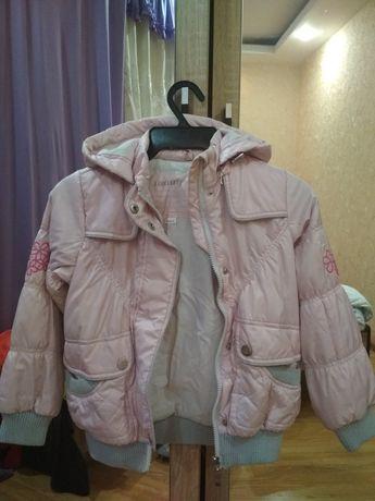 Куртка осень/весна 116 см