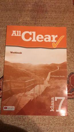 All Clear Workbook klasa 7