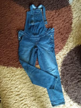 Spodnie ogrodniczki r.40