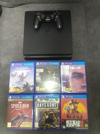 Приставка Sony Playstation 4 Slim 1 Tb