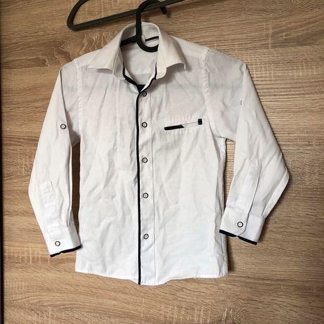 Koszula biala chłopieca