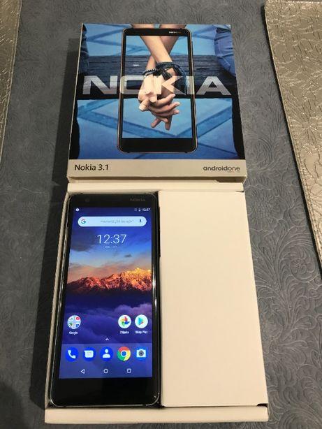 Nokia 3.1 Czarny nie używany