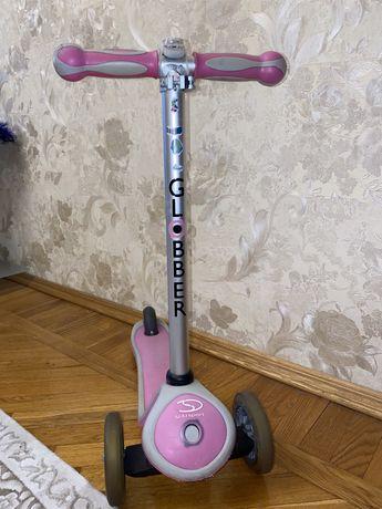 Самокат Globber розовый