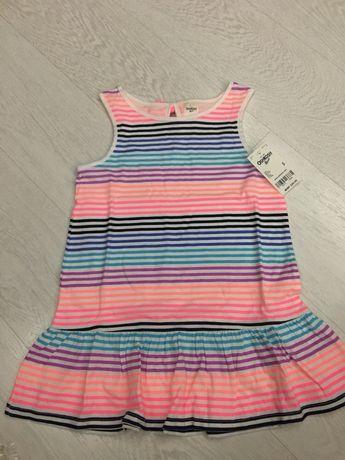Яркая и красивая туника платье osh kosh