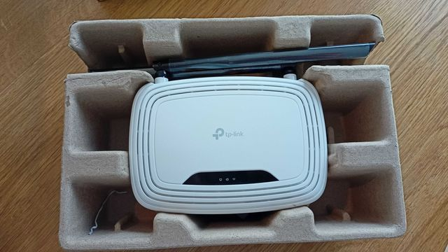 Bezprzewodowy router, standard Wi-Fi N, 300Mb/s TL-WR841N, Komplet