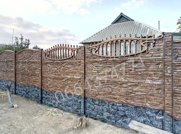 бетонный еврозабор цена винница