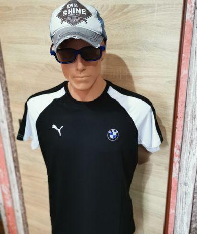 Koszulka Męska T-shirt Puma seria BMW rozmiary M L  XL  XXL