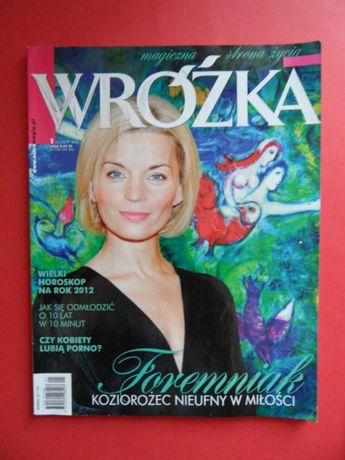 czasopismo Wróżka nr. 1 styczeń 2012