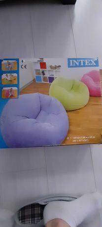 Fotel Pufa pompowany Intex