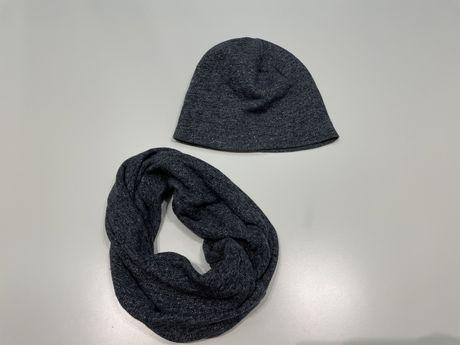 Комлект: шапка и шарф-хомут