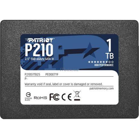 SSD накопитель PATRIOT P210 256, 512 GB, 1 TB. Новые! Гарантия!