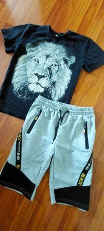 Комплект шорты и футболка для мальчика 10-12 лет