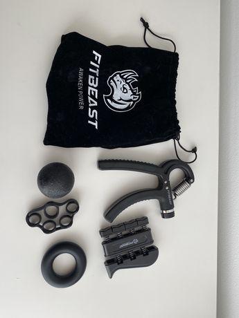 Kit de exercício de grip e antebraço