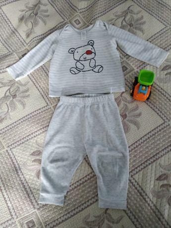Велюровый костюмчик для мальчика
