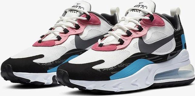 NOWE Nike Air Max 270 React, roz 44 EU, super kolor