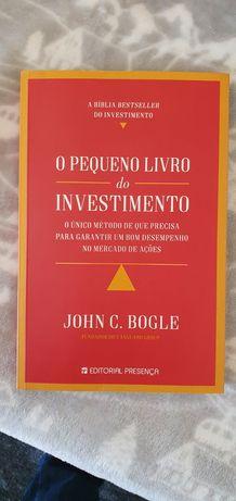 O pequeno livro do investimento de John Bogle