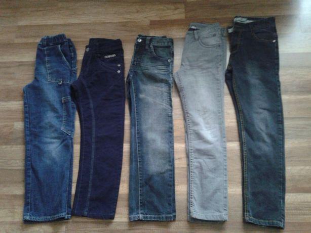 spodnie chlopiece 140-146