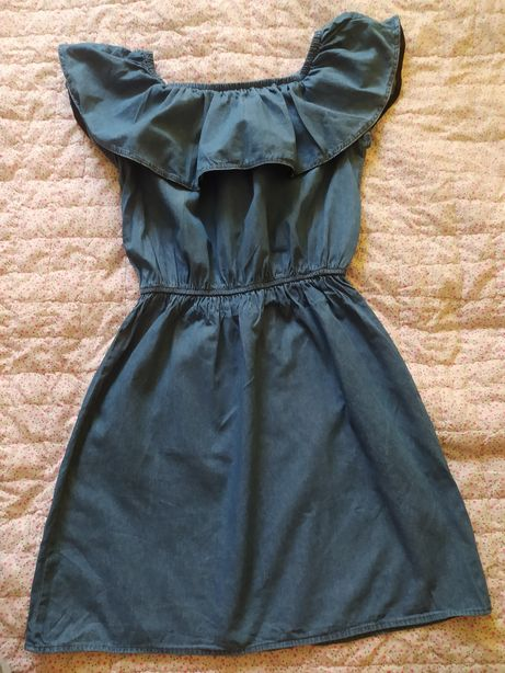 Sukienka jeansowa Sinsay S