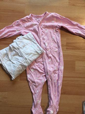 Pajacyki piżamki r74