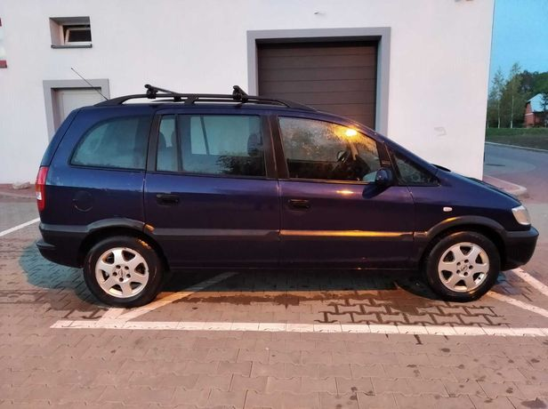 Opel Zafira 1.8 LPG