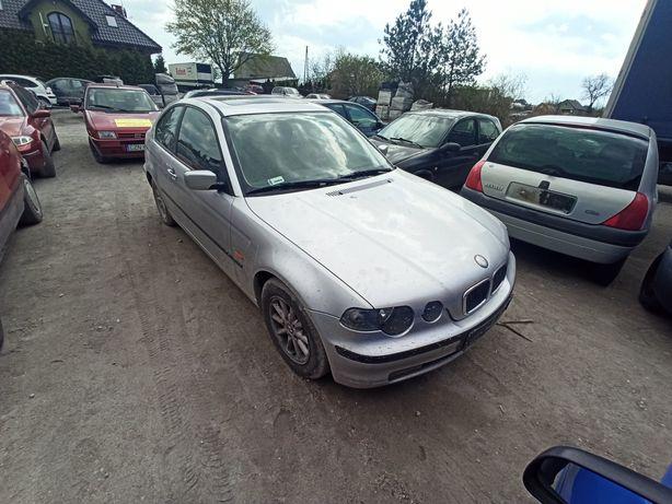 BMW E46 Compact drzwi kompletne stan bdb Wysyłka Kurierem