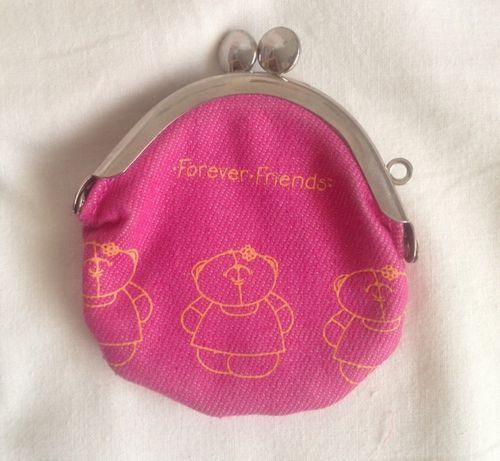 Porta moedas cor-de-rosa Forever Friends