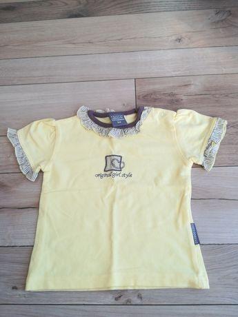 Koszulka dla dziewczynki firmy COCCODRILLO rozmiar 68