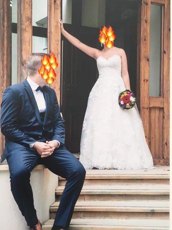 Suknia ślubna allure bridals 9353 rozmiar 38