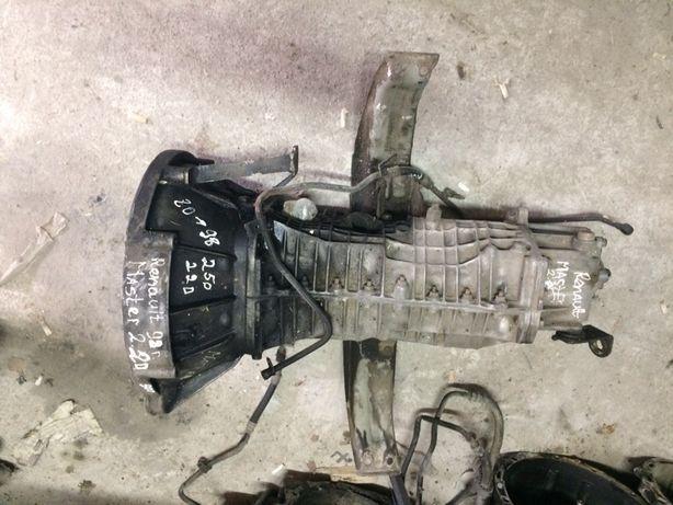 коробка передач КПП RENAULT MASTER 2.2-2.5D 7700598151.