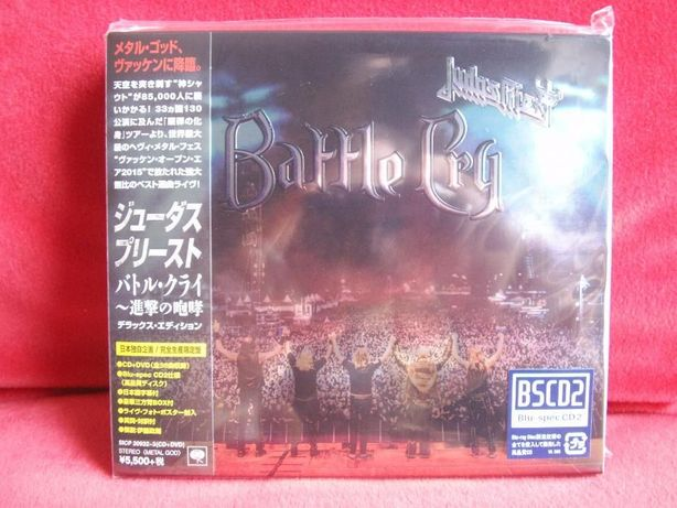 JUDAS PRIEST Battle Cry CD+DVD Blu-spec CD2 Japan