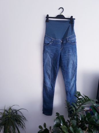 Spodnie jeansowe ciążowe Happymum rozm M