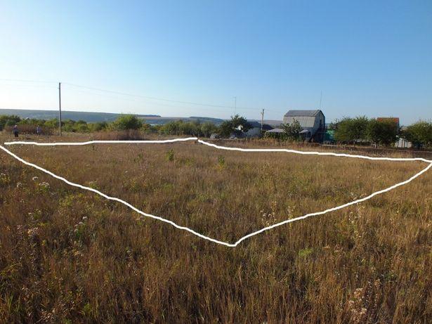 Продам ровный участок на берегу Травянского водохранилища, 11 соток!